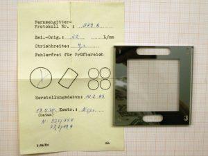 Sehr hochwertiges liniengitter mit linien pro mm mikrometer